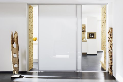 Room divider, Gliding doors, Sliding doors, Kitchen, Glass